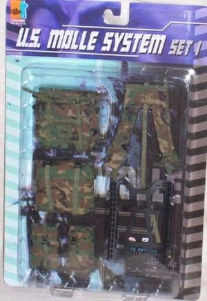 "Dragon Modern 12"" US 1/6 scale Molle System Set 1 MOC 71148 71148"