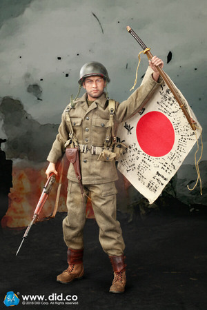 """1/6 Scale 12"""" 77th Infantry Division Captain Sam A80129 New A80129"""
