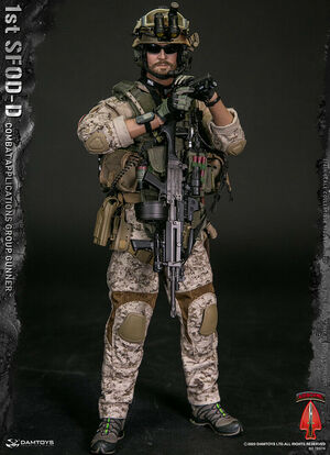 "DAM Toys 1/6 Scale 12"" 1st SFOD Combat Group Gunner Action Figure 78074 New 78074"