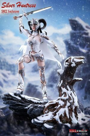 "TB League 1/6 Scale 12"" Silver Huntress Action Figure SHCC Exclusive PL-2017-105 PL-2017-105"