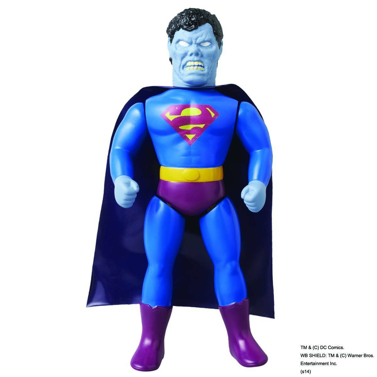 "Medicom DC Comics Originals Retro Sofubi Collection 10"" Soft Vinyl Bizarro Action Figure 4530956464855"