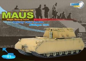 WWII German 1/72 scale Super Heavy Maus Tank 60156 60156