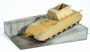 1/72 Scale WWII German Super Heavy Maus Tank with Testbed  #60323 60323
