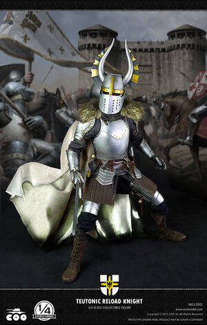 COOModel 1/4 Scale Legend Series Teutonic Reload Knight Action Figure COO-LS001 COO-LS001