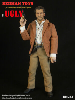 "Redman Toys ""The Good The Bad and the Ugly"" The Ugly 1/6 Scale 12"" Figure RM-044 RM-044"