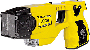 Yellow TASER® X26 Refurbished Law Enforcement Model #26051