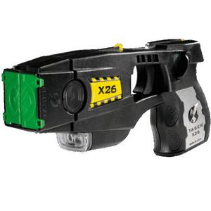 Black TASER® X26 Refurbished Law Enforcement Model 26050