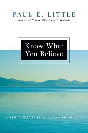 Know What You Believe BK3836