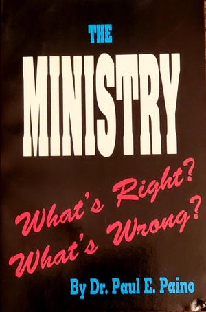 The Ministry, What's Right? What's Wrong? BK2358