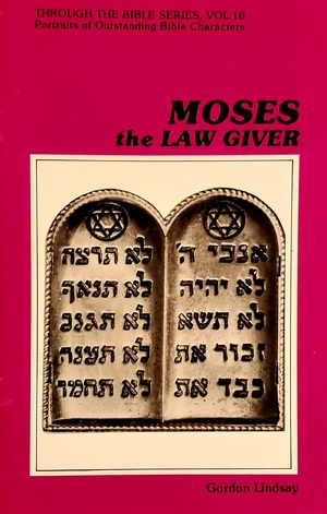 Moses the Law Giver BK268